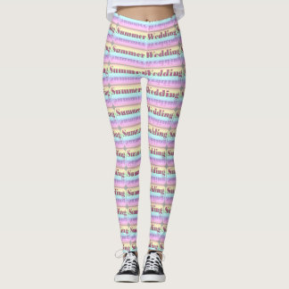 Summer Wedding Leggings