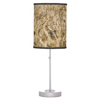 Summer Wheat Field Closeup Farm Photo Table Lamp