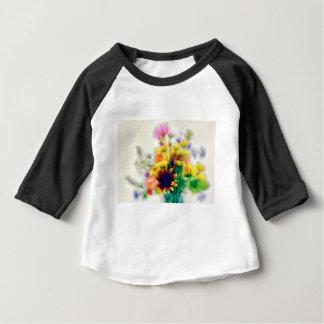 Summer Wildflower Bouquet Baby T-Shirt