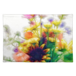 Summer Wildflower Bouquet Placemat