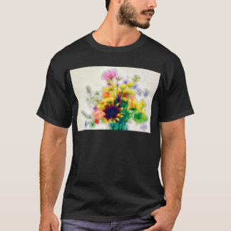 Summer Wildflower Bouquet T-Shirt