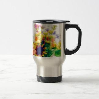 Summer Wildflower Bouquet Travel Mug