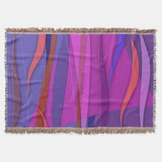 Summer Wind Throw Blanket