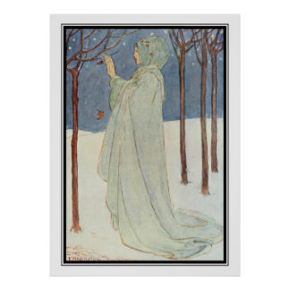 Summer (Winter) by Florence Harrison Poster