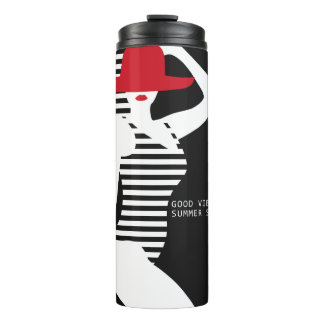 Summer Woman custom name tumbler
