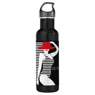 Summer Woman custom name water bottles