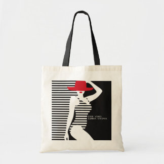 Summer Woman tote bags