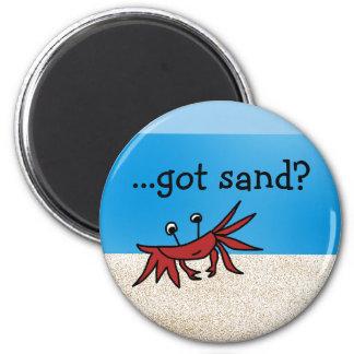 summerbeach, ...got sand? magnet
