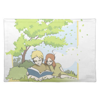 Summerbreeze (summer breeze) placemat