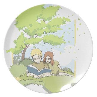 Summerbreeze (summer breeze) plate