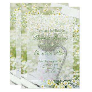 Summerfield Daisies Camomile Flower Bridal Shower Card