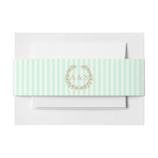 Summermint Invitation Belly Band