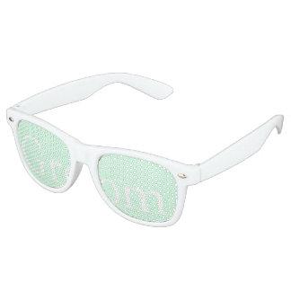 Summermint Pastel Green Mint Wedding Party Sunglasses