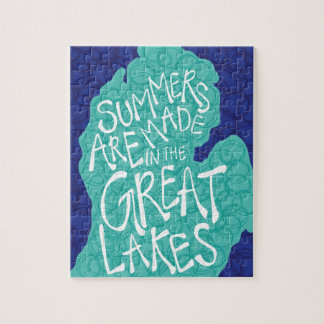 Summers Are Made In The Great Lakes - Apron Jigsaw Puzzle