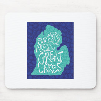 Summers Are Made In The Great Lakes - Apron Mouse Pad