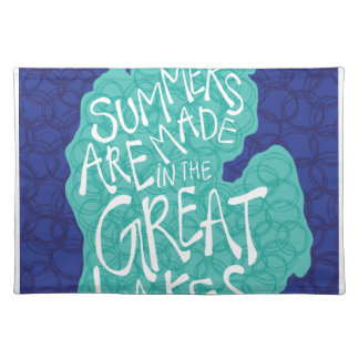 Summers Are Made In The Great Lakes - Apron Placemat