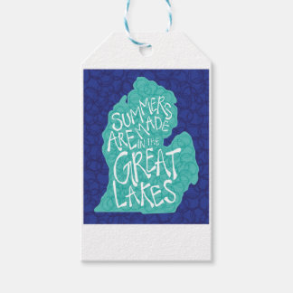 Summers Are Made In The Great Lakes - Blue Gift Tags