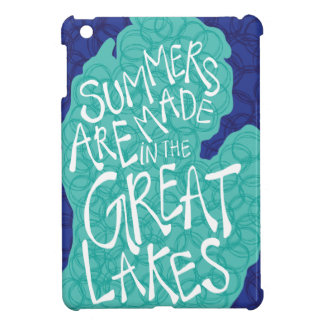 Summers Are Made In The Great Lakes - Blue iPad Mini Case