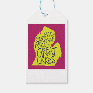 Summers Are Made In The Great Lakes - Kids! Gift Tags