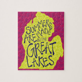 Summers Are Made In The Great Lakes - Kids! Jigsaw Puzzle