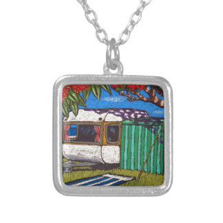 SUMMERS DAY SILVER PLATED NECKLACE