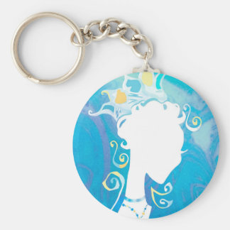 Summer's Phantom Blue Keychain