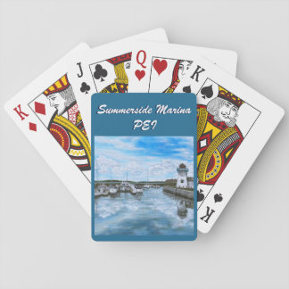 Summerside Marina Playing Cards