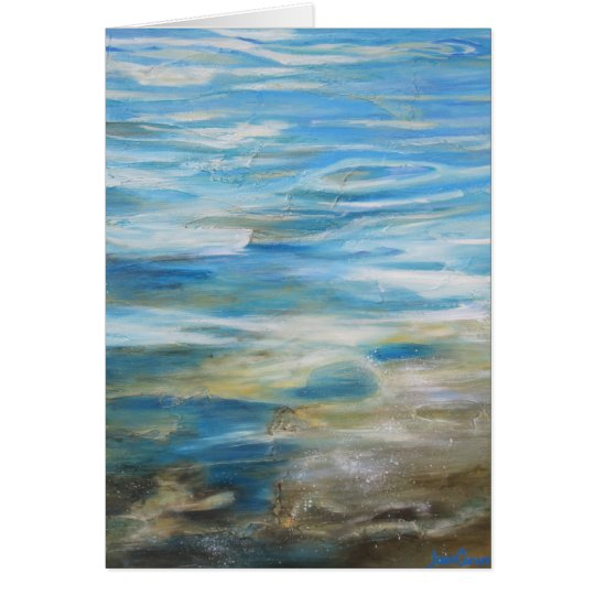 """Summertime Blues"" - Greeting Card"