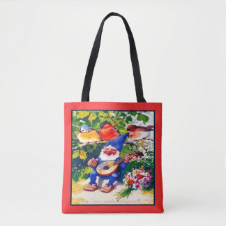 """Summertime Garden"" Tote Bag"