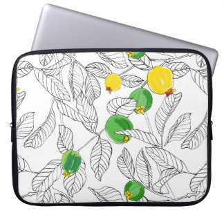 Summertime Guavas Laptop Sleeve