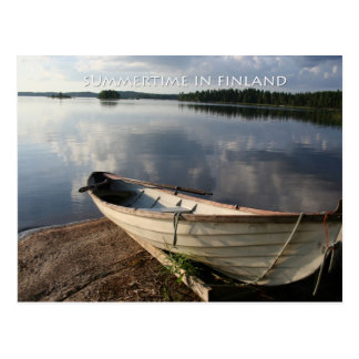Summertime in Finland Postcard