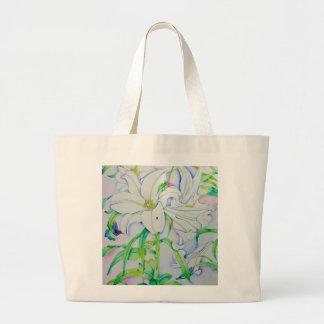 Summertime Large Tote Bag