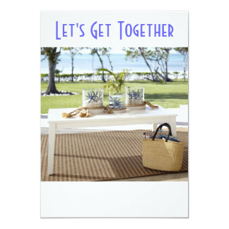 SUMMERTIME OR OUTDOOR PARTY INVITATION
