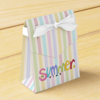 Summertime Tent Favor Box