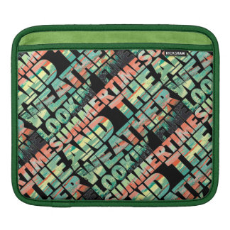 SummerTime Weather Lookin' Fine iPad Sleeve