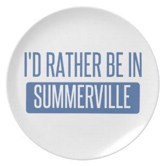 Summerville Plate