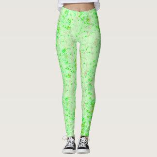 Summery bright leggings