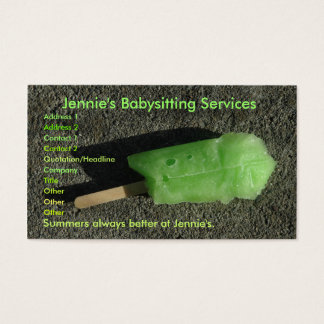 Summery Business Card