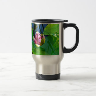 Summery ode ton the Water Lily Travel Mug