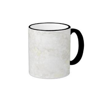 Summery White Fairy Dust Ringer Mug
