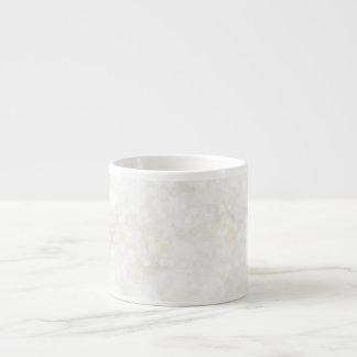 Summery White Fairy Dust Espresso Mug