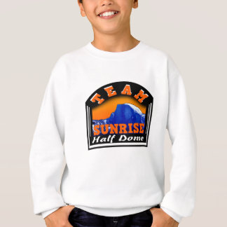 Summit Actionwear Team Sunrise Half Dome Sweatshirt