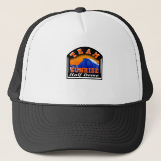 Summit Actionwear Team Sunrise Half Dome Trucker Hat