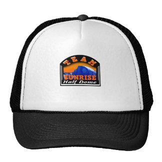 Summit Actionwear Team Sunrise Half Dome Trucker Hat