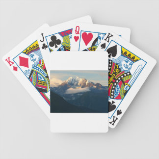 summit-in-morning-light bicycle playing cards