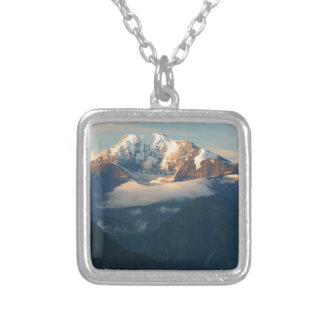 summit-in-morning-light silver plated necklace