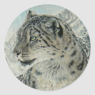 Summit King Snow Leopard sticker
