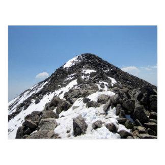 Summit of Mount Yale, Colorado Postcard