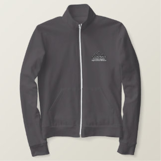 Summit Track in Red Embroidered Jacket