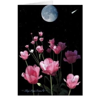 """SUMMON THE STARS"" Romantic Note card"